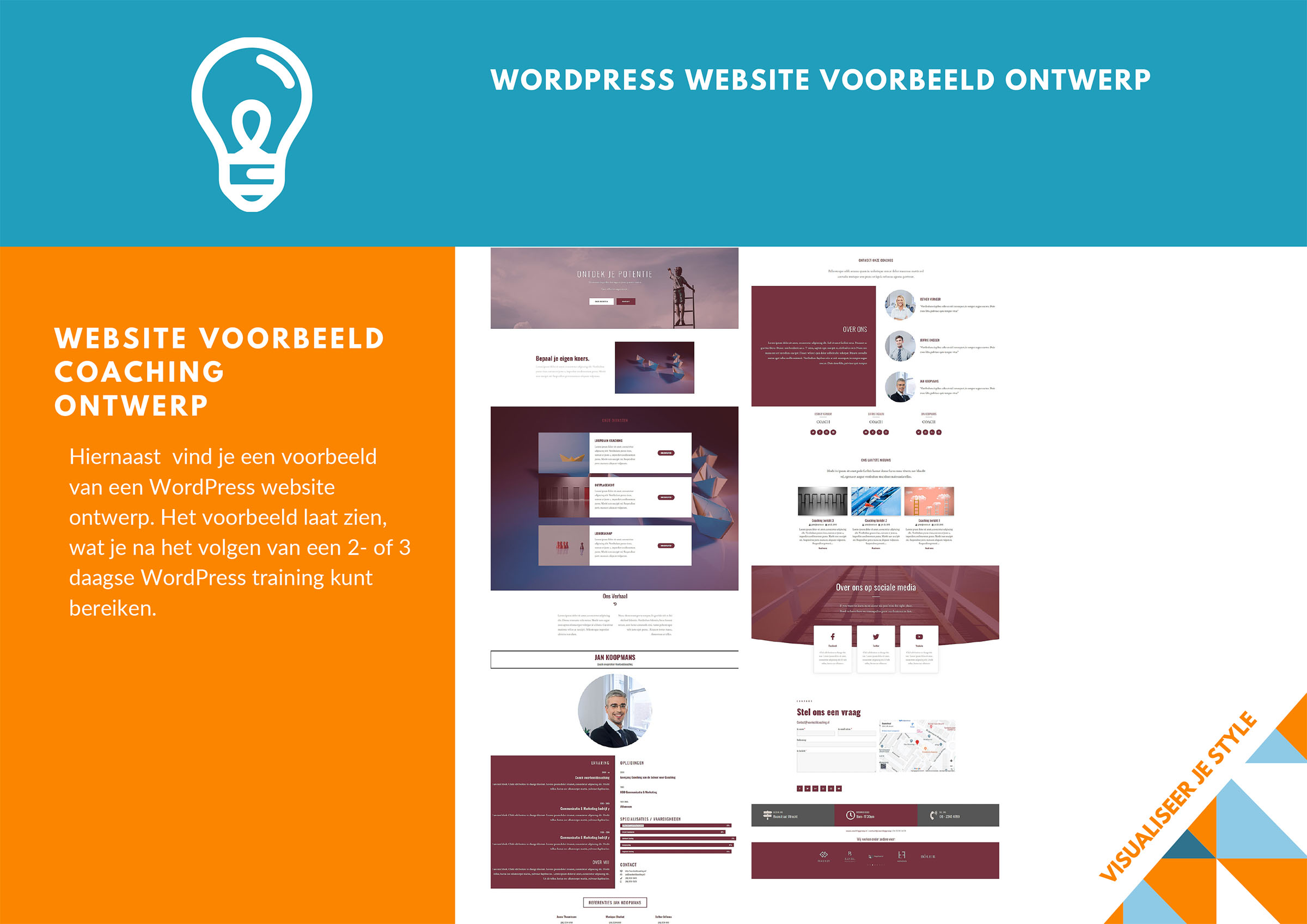Training WordPress Bootcamp Brochure